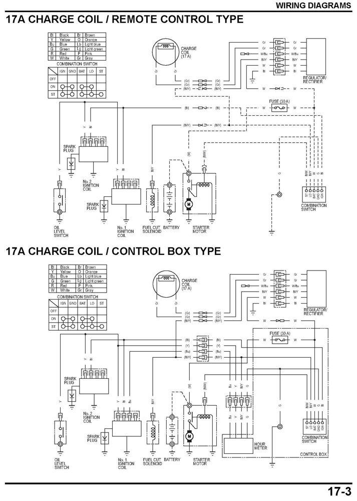 Honda Gx690 Wiring Diagram Wiring Schematic Diagram