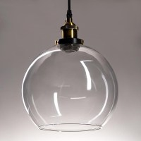 Vintage Industrial Glass Ceiling Pendant Chandelier Light ...