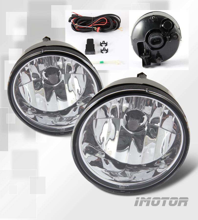 For 2004-2015 Nissan Titan/04-07 Armada Fog Lights+Toggle Switch+