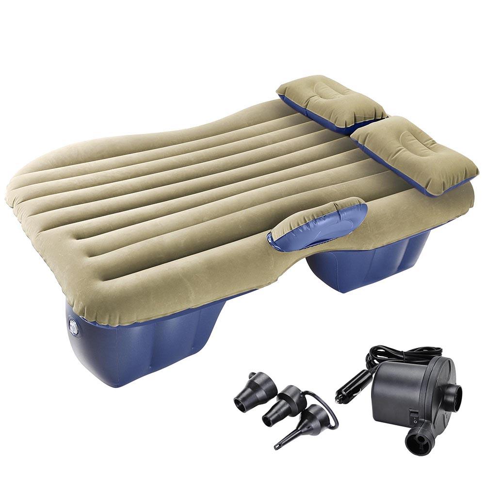 Car Air Bed Inflatable Mattress Seat Cushion W Pillows