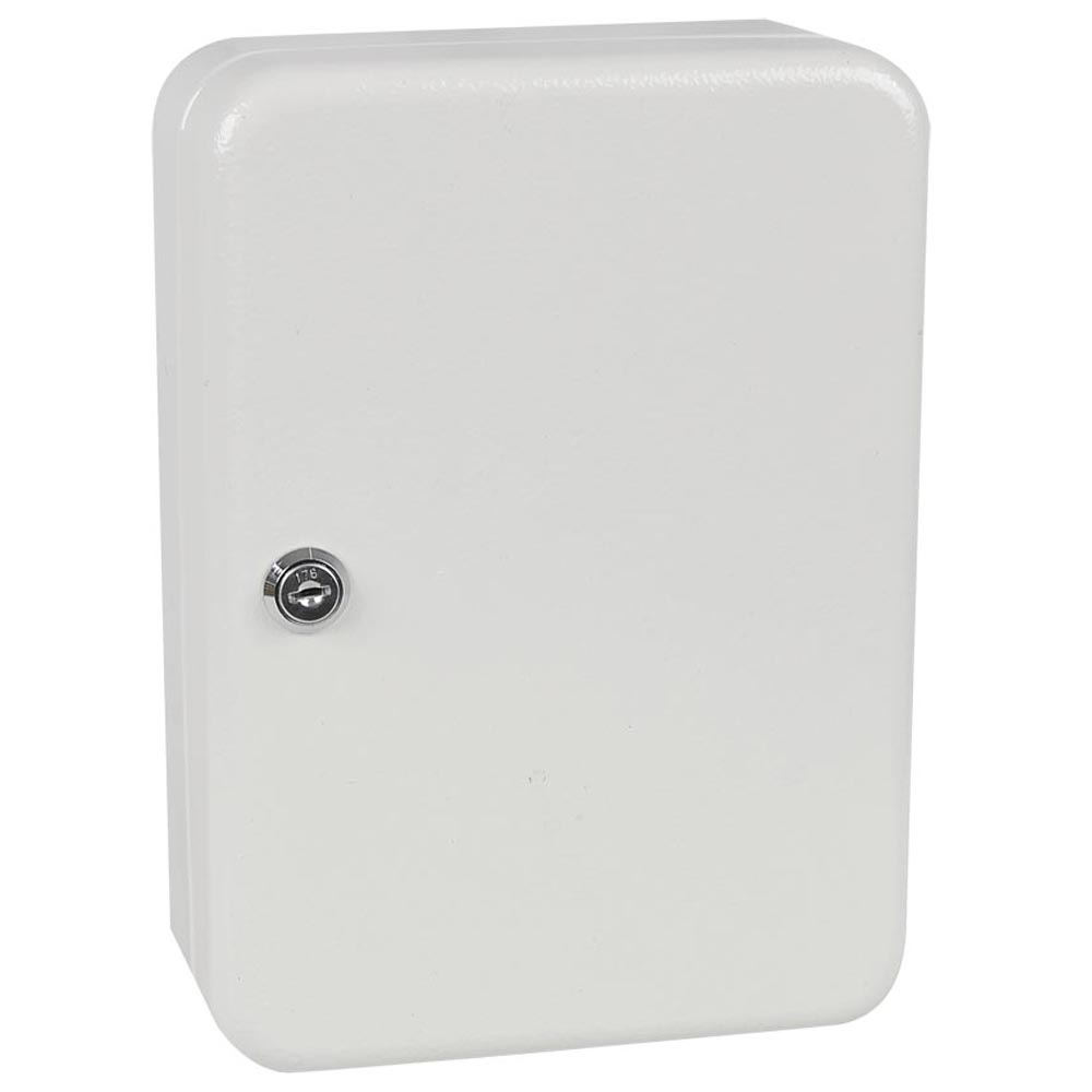Metal Safe 48 Hook Key Box W Tag Home Car Lock Storage