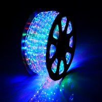 150' LED Rope Light 110V 2 Wire Party Home Christmas