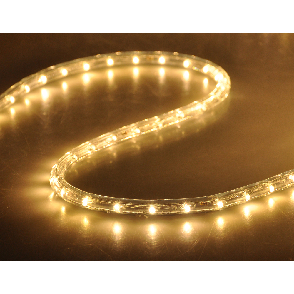 50' LED Rope Light Flex 2 Wire Outdoor Holiday Dcor
