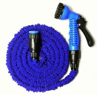 100FT Expandable Flexible Blue Color Garden Water Hose ...