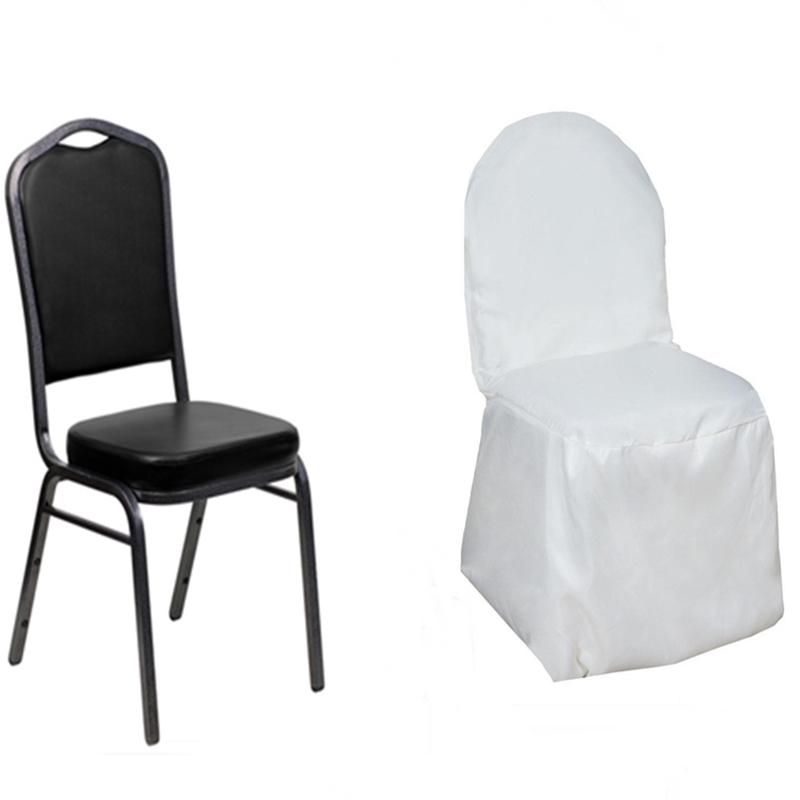 100 pcs Polyester Banquet CHAIR COVERS Wedding Reception Party