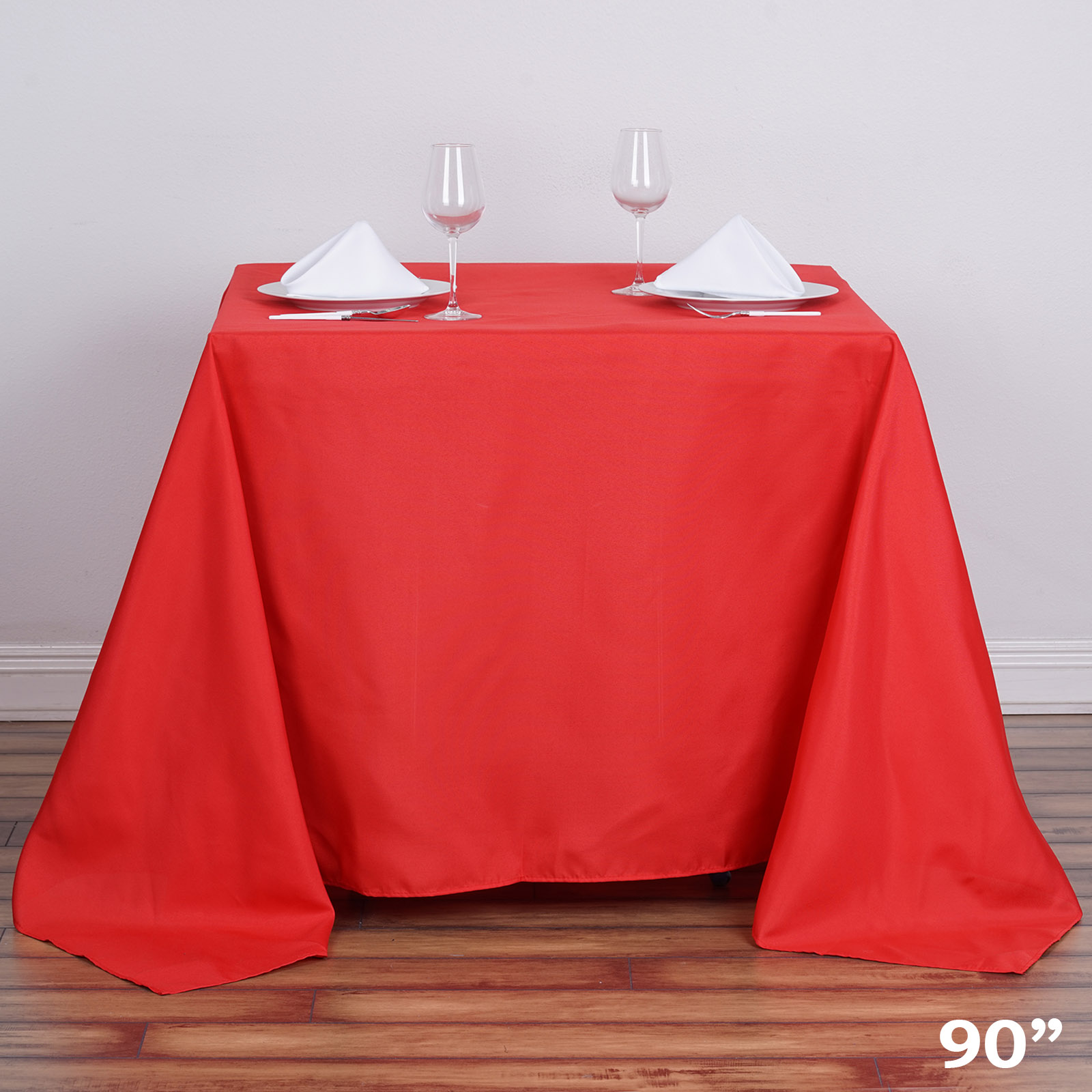 Square Tablecloth 90x90 Quot Square Polyester Tablecloth Cheap Table Linens