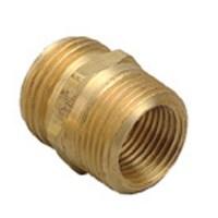 Orbit Brass Hose to Hose Connector Fitting, Water & Garden ...