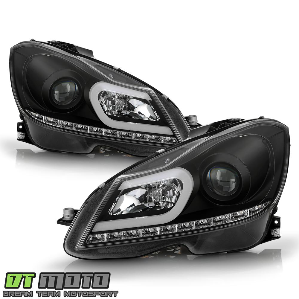 DIY 2012-13 Bi-Xenon headlights fitted into 2009 C300 - MBWorldorg