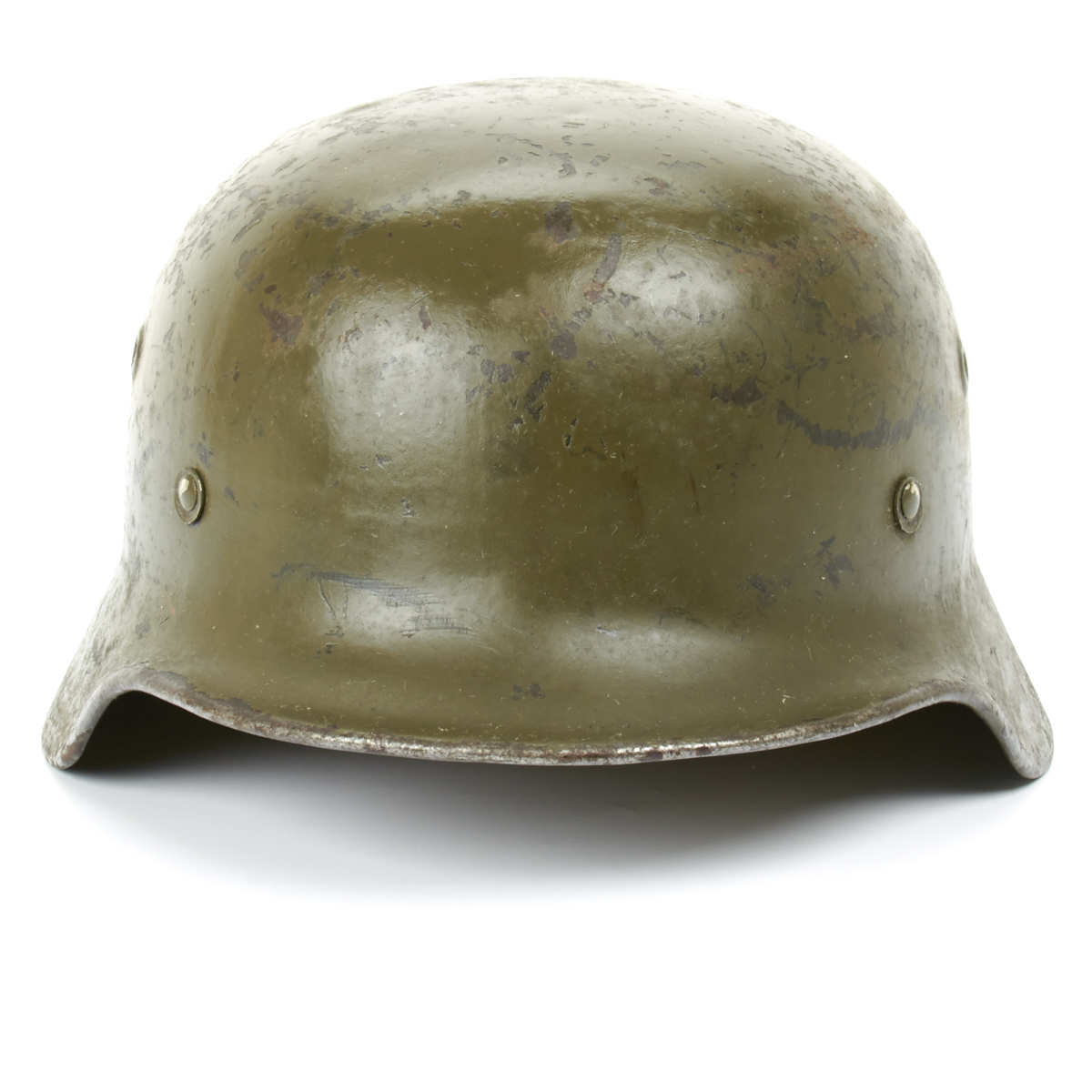 Strahlhelm Details About Original German Wwii M40 Stahlhelm Steel Helmet Shell Size 68 Maker Marked