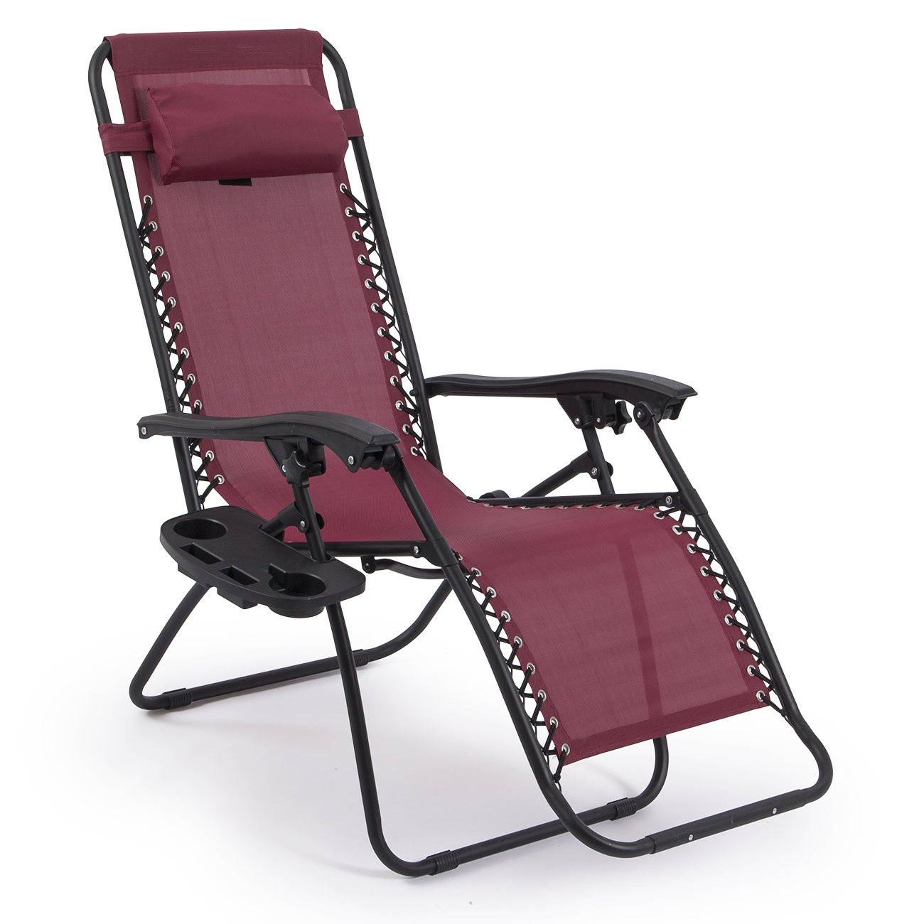 Outdoor Folding Chairs 2 Folding Zero Gravity Reclining Lounge Chairs 43utility