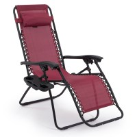 2 Folding Zero Gravity Reclining Lounge Chairs+Utility ...