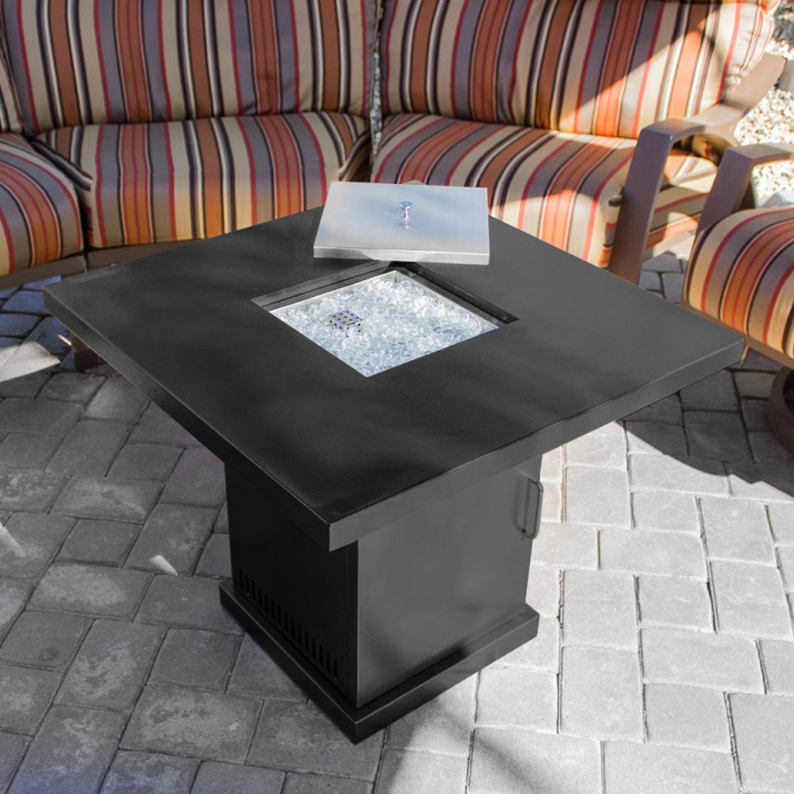 Fireplace Tables Outdoor Patio Heater Table Fire Pit Outdoor Backyard Propane