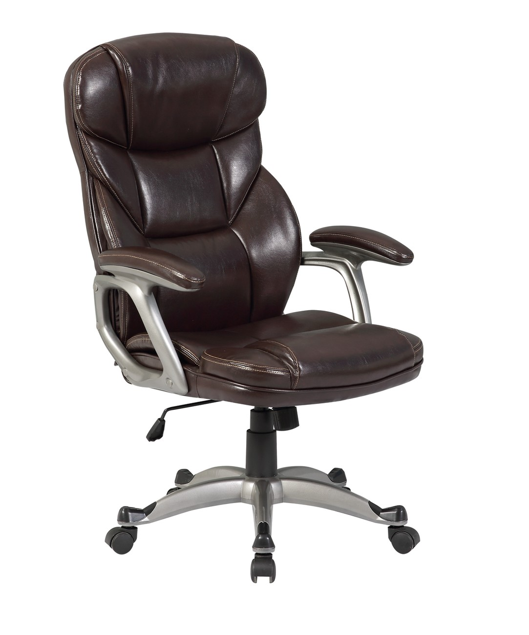 High Back Desk Chair Executive Office Chair Pu Leather Ergonomic High Back Desk