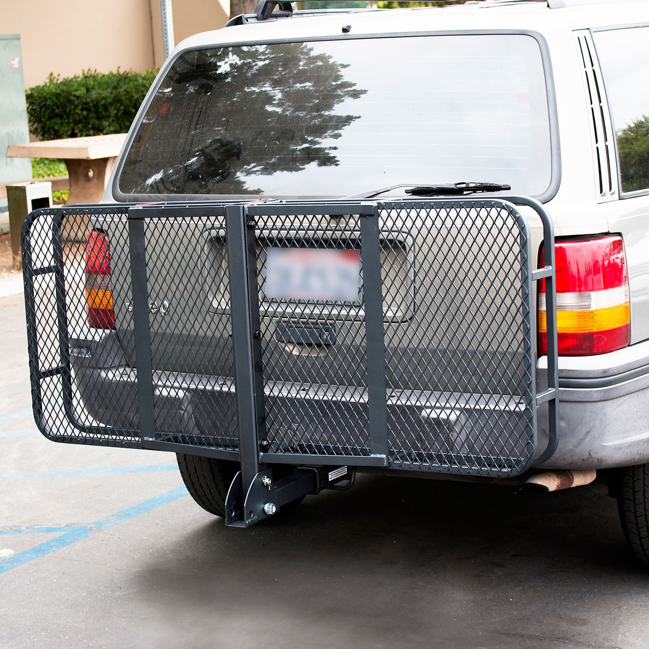 60quot Folding Truck Car Cargo Carrier Basket Luggage Rack