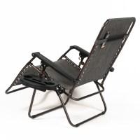 NEW Set of (2) Zero Gravity Chair XL Oversize Chairs ...