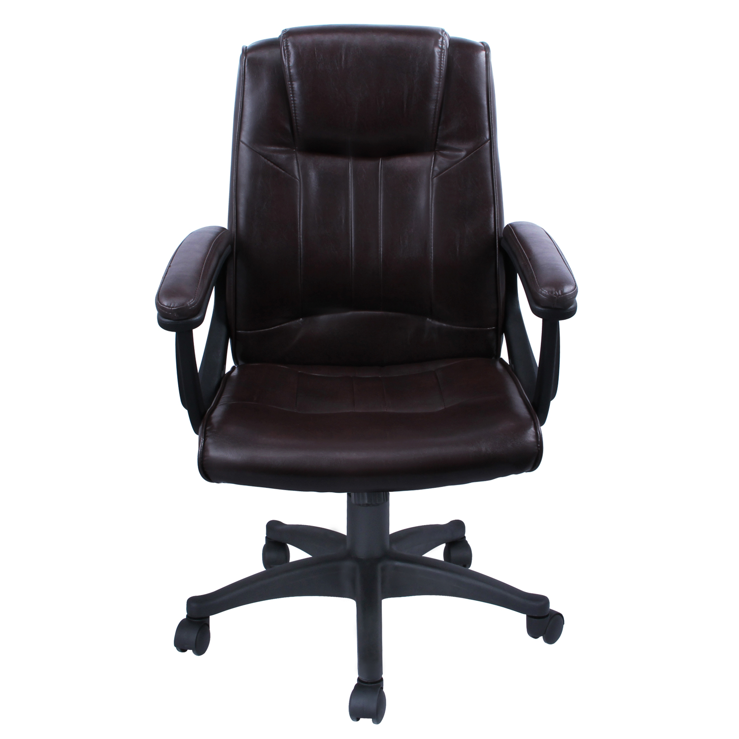 High Back Desk Chair High Back Pu Leather Executive Ergonomic Office Chair Desk