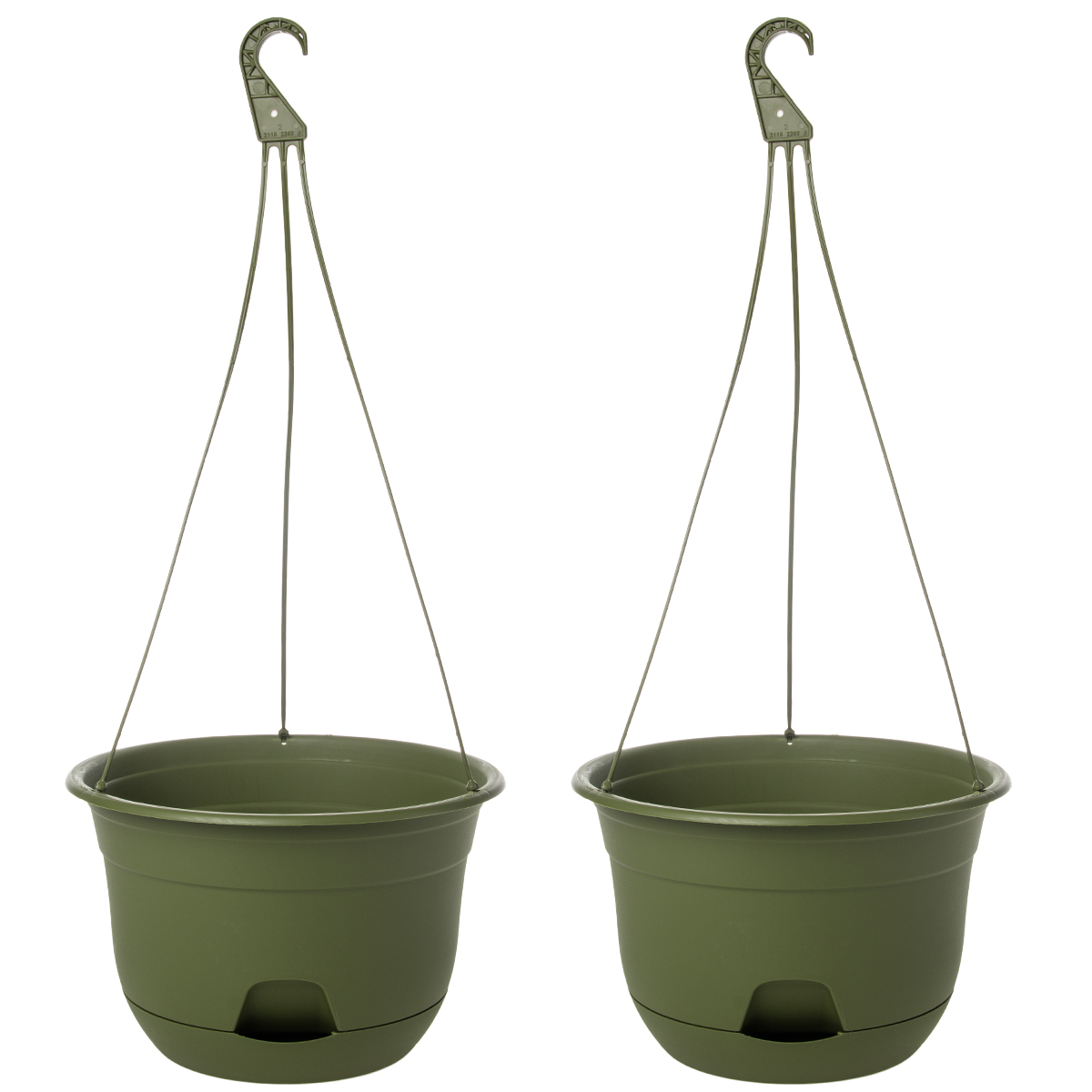 Self Watering Outdoor Planters 2pk Suncast 12 Self Watering Hanging Planter Indoor