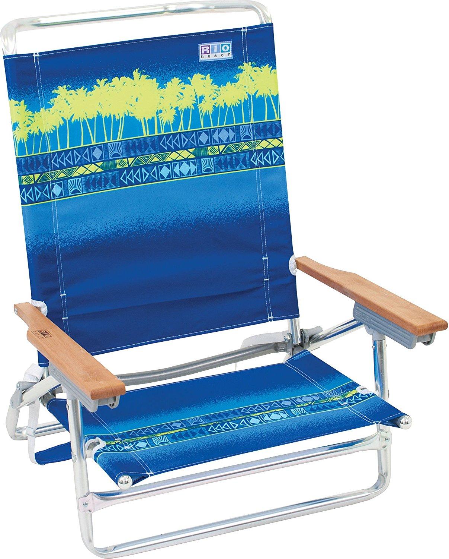 5 Position High Back Beach Chair Ebay