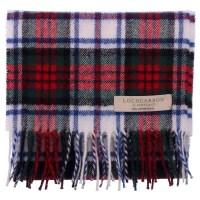 New Long Neck Tartan Scarf Scottish Lochcarron Wool Scarf ...