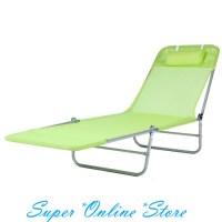 Folding Reclining Tanning Reclining Sun Bed Lounge Pool ...