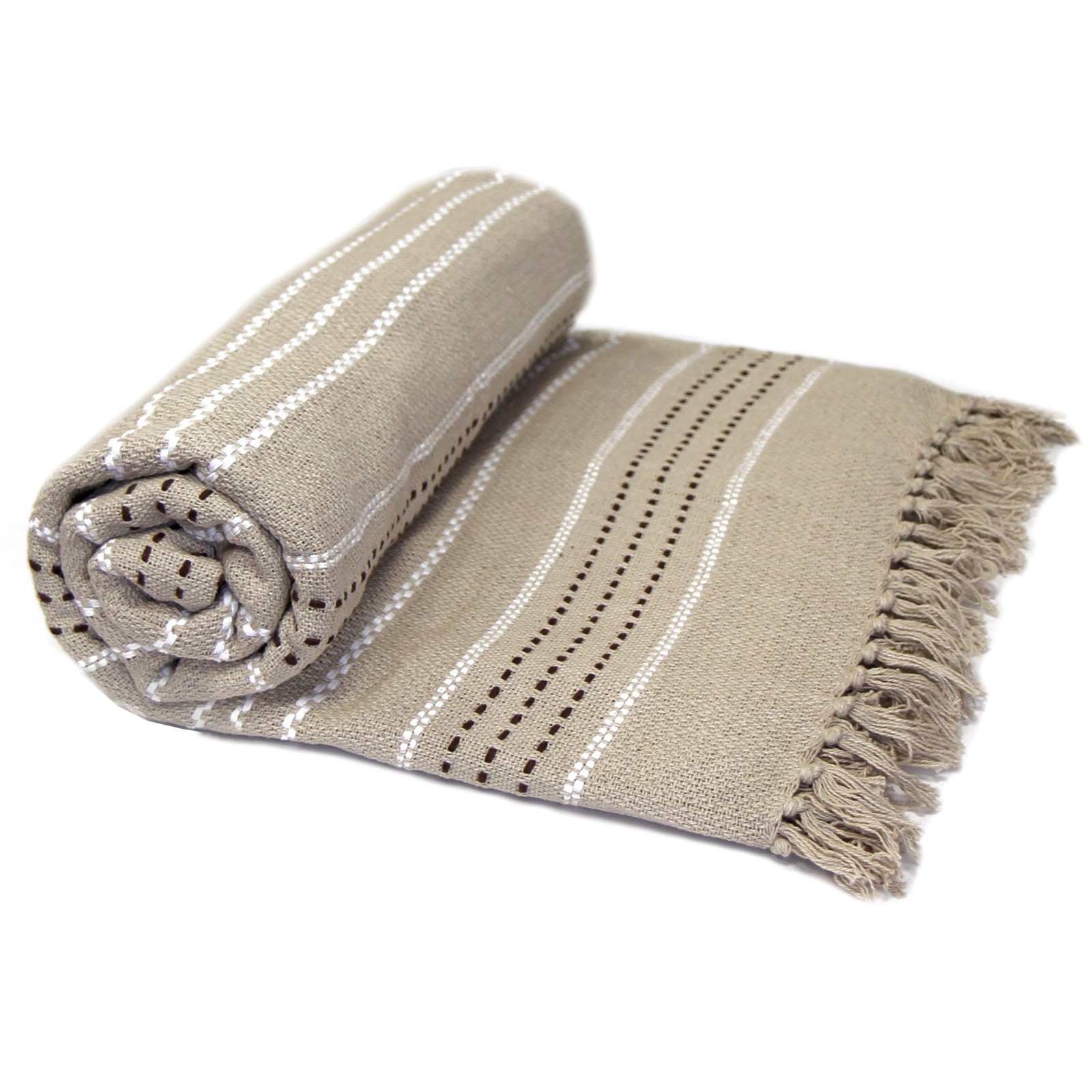 Cotton Throws 100 Cotton Luxury Thermal Woven Throw Over Sofa Bed