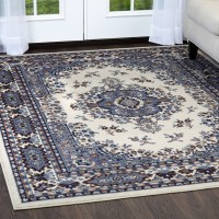 Traditional Oriental Medallion Rug 2x7 Persian Style ...