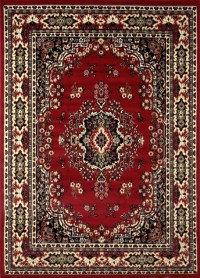 Traditional Oriental Medallion Area Rug Persian Style ...