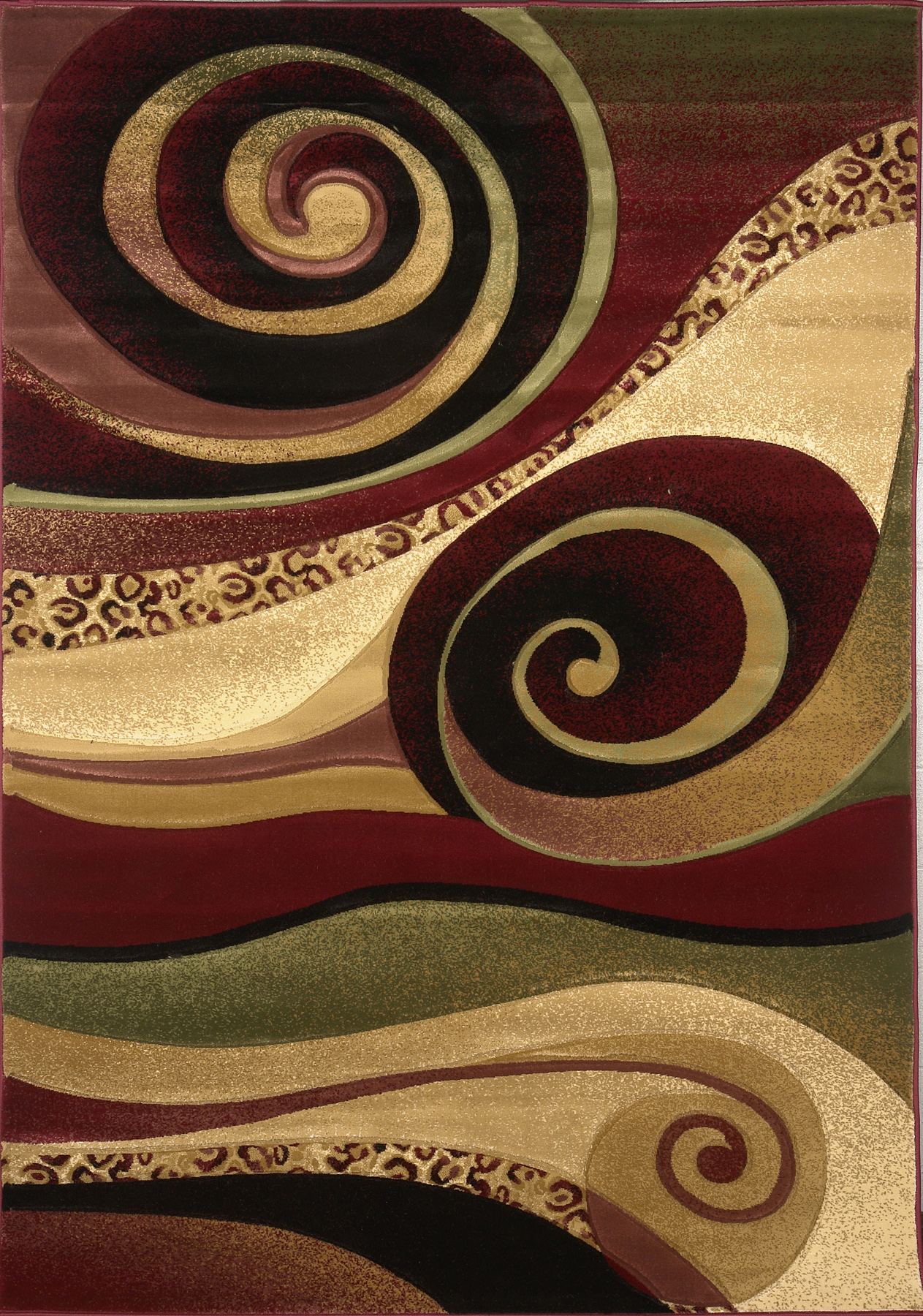 Asian Carpet Details About Multicolor Modern Area Rug Contemporary Swirls Abstract Chinese Art Asian Carpet