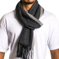AlpineSwiss Mens Plaid Scarves Winter Scarf Soft Neck Wrap ...