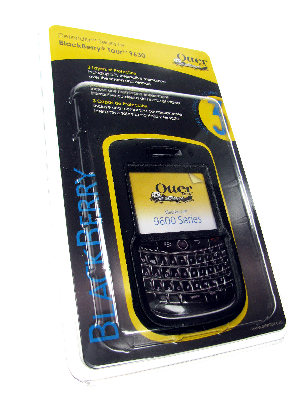Blackberry Q10 Libre Otterbox Defensor Caso Para Blackberry Audaz 9650 352