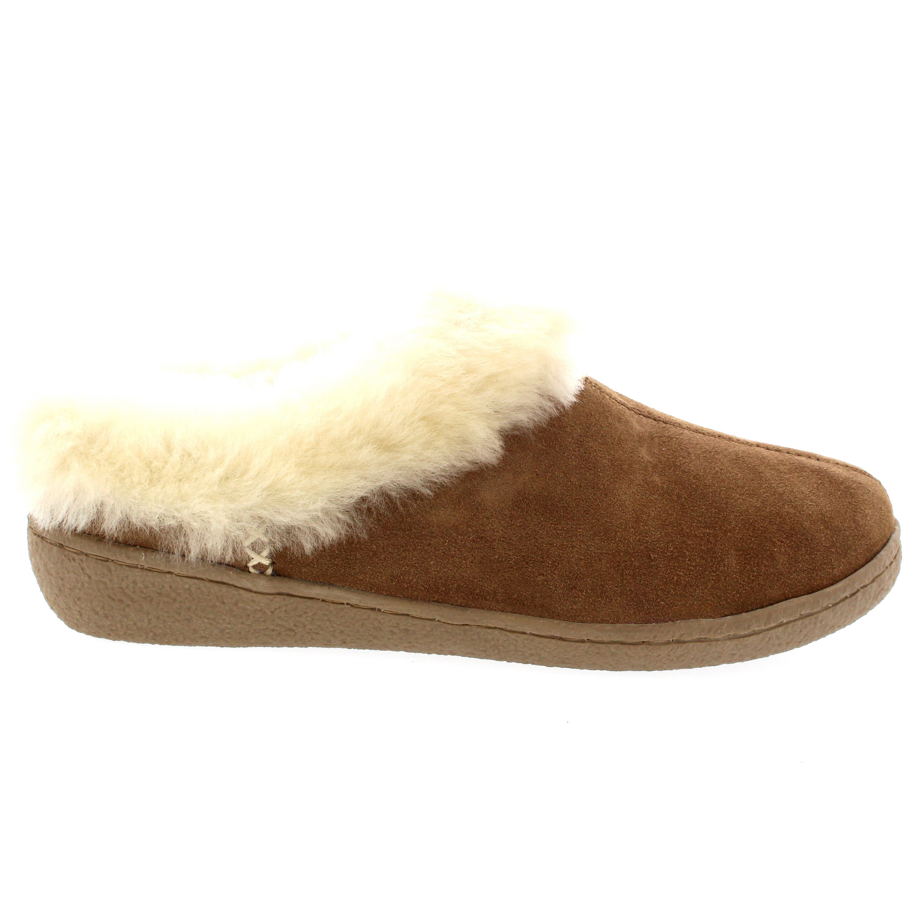 Slippers Australia Womens Genuine Suede Australian Sheepskin Fur Lined Warm
