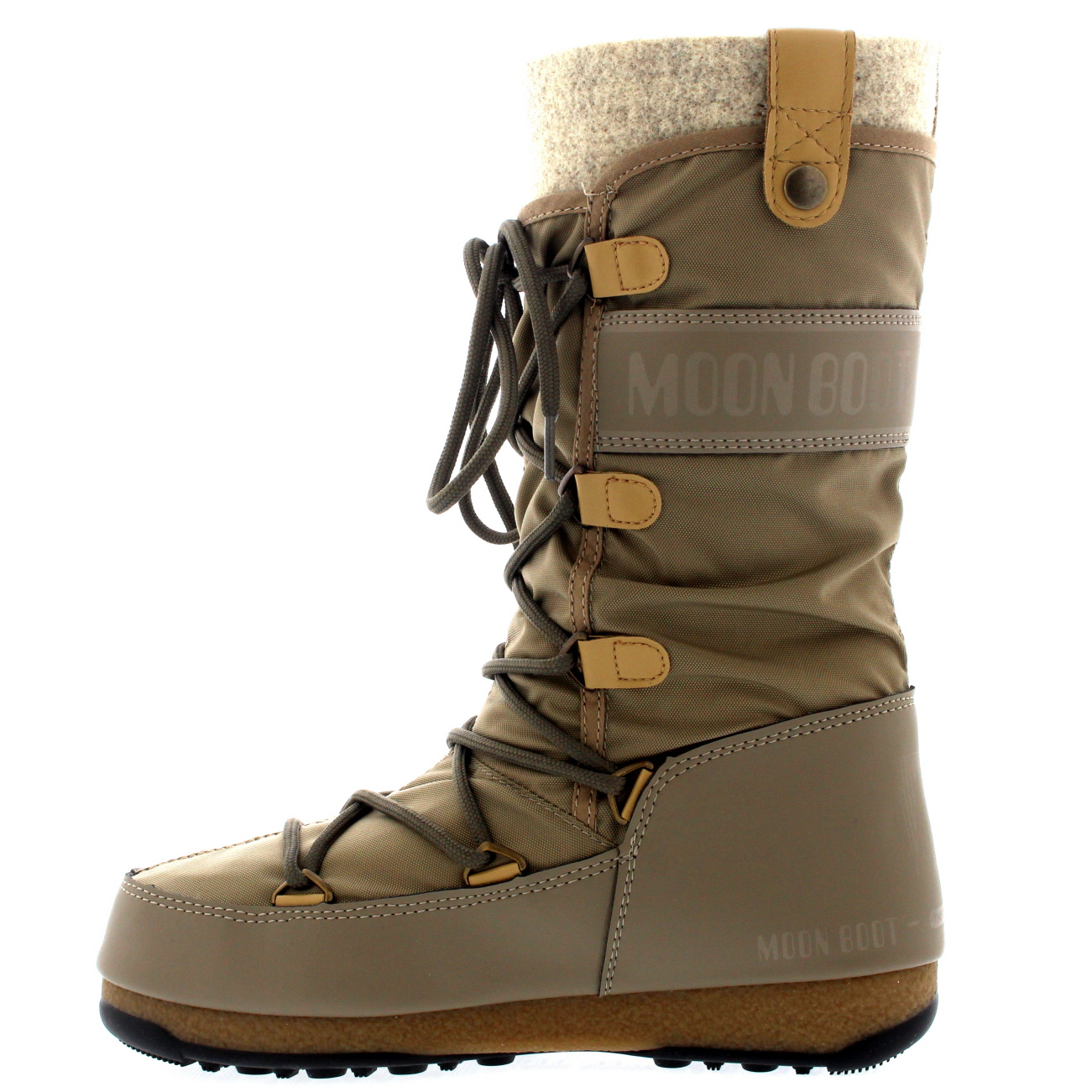 Ladies Tecnica Original Moon Boot Monaco Felt Winter Mid