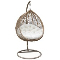 Bentley Garden Wicker Rattan Patio Hanging Swing Chair