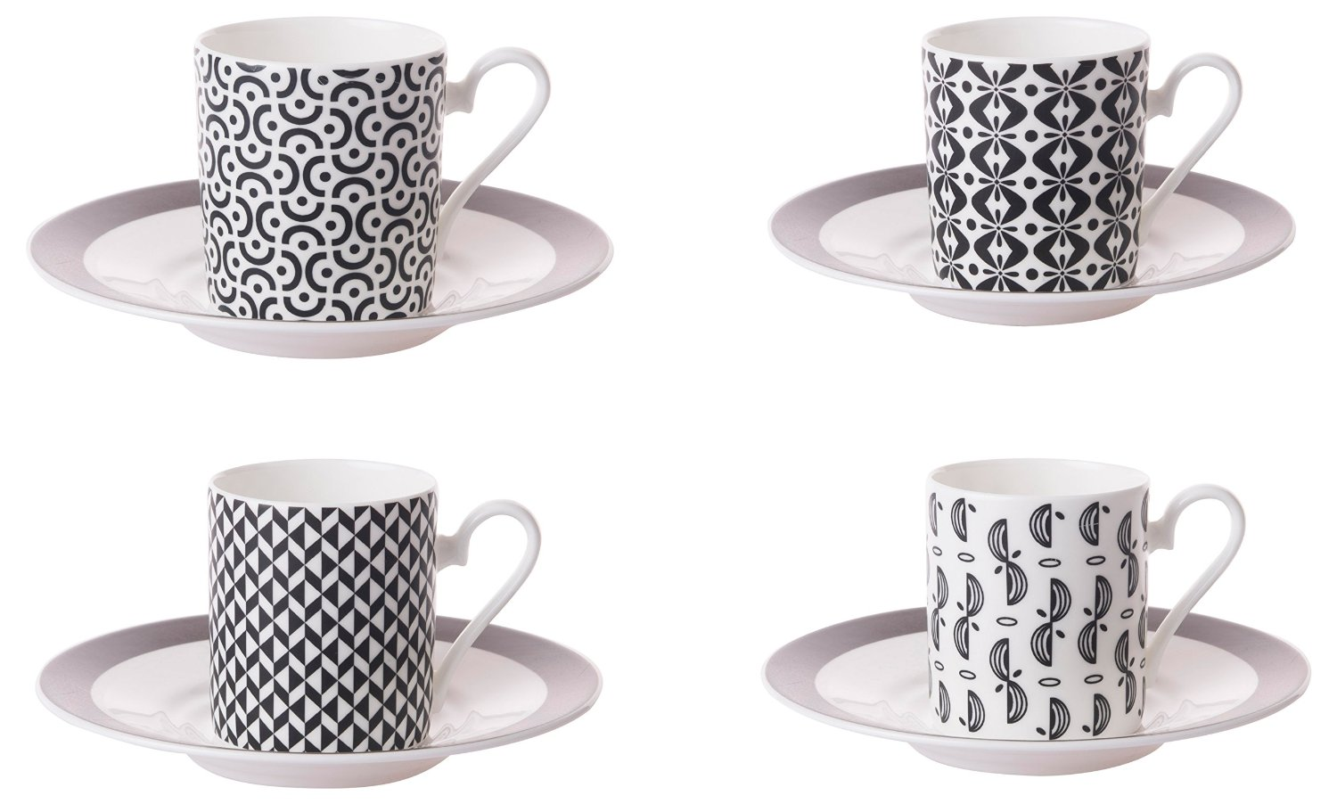 Small Coffee Cups And Saucers Details About Roy Kirkham Set Of 4 Primrose Bordier Small Coffee Cans Cups Saucers 200ml