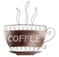 Contemporary Metal Wall Art - Coffee Cup   eBay