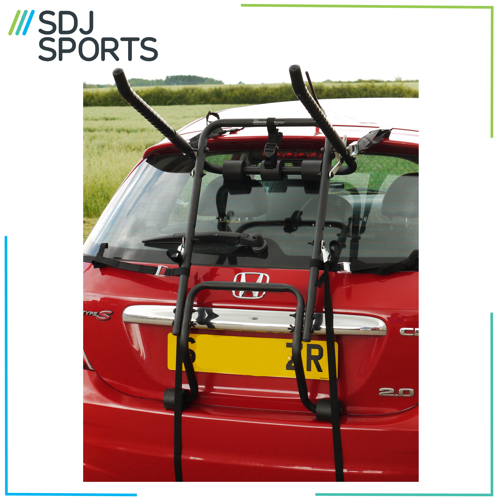 Contrast 4 Bike Car Rack Carrier Boot Fitting 4 Cycle