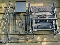 Cyprinus Whole Hog Fishing Chair + Rod Pod