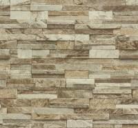 Brick Effect Wallpaper Vinyl 3D Slate Stone Split Face ...