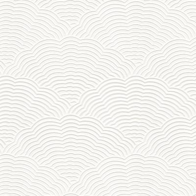 White Blown Vinyl Wallpaper Embossed Textured Paintable ...