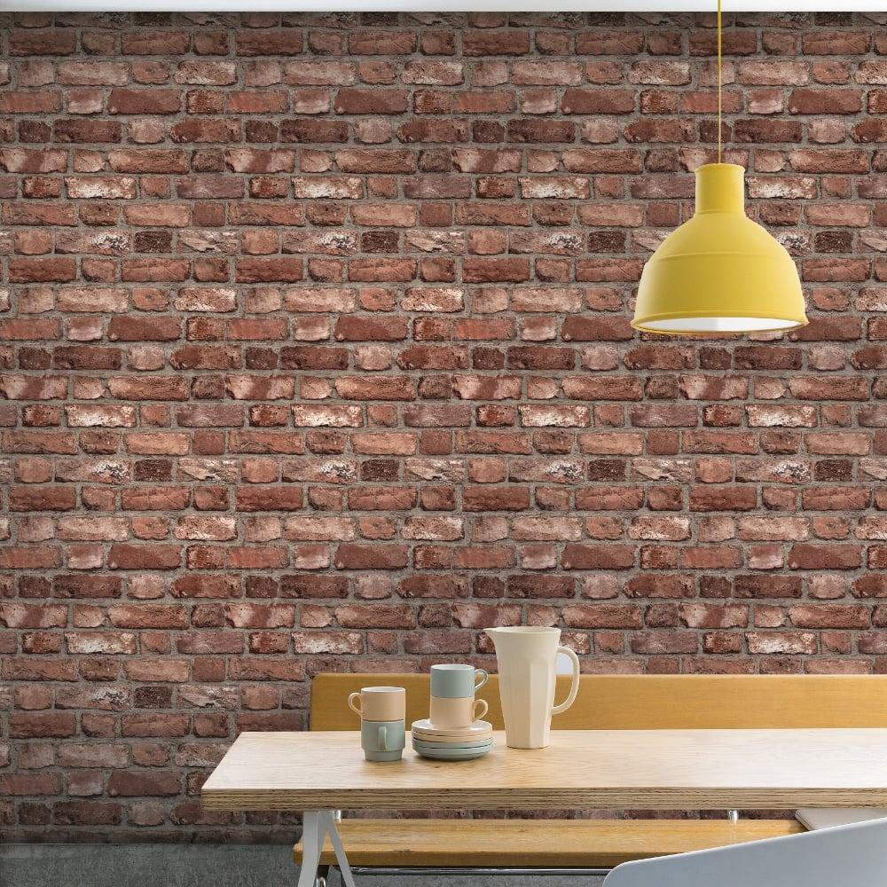 3d Effect Stone Brick Wall Textured Vinyl Wallpaper Self Adhesive 3d Brick Effect Wallpaper Slate Stone Realistic Textured