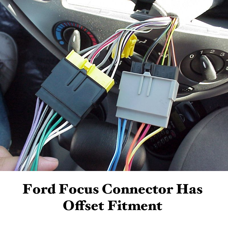 ford focus stereo wiring harness