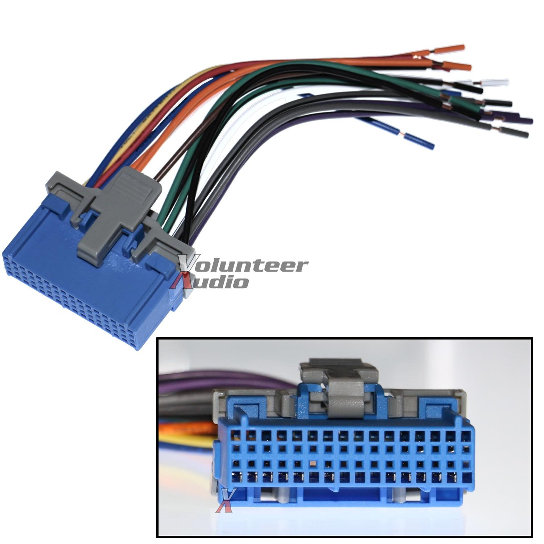 scosche radio wiring harness for aftermarket kit