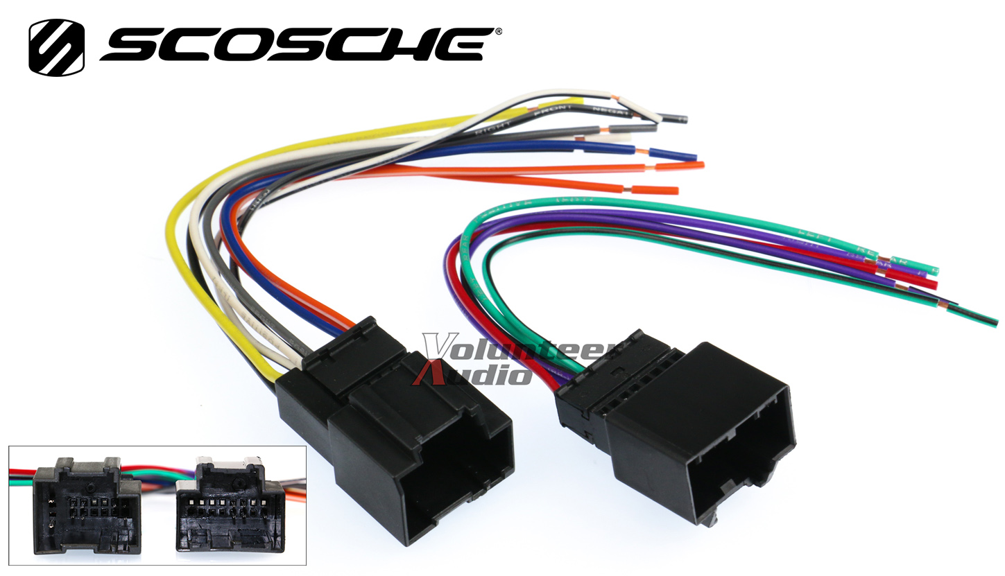 sirius radio wiring harness