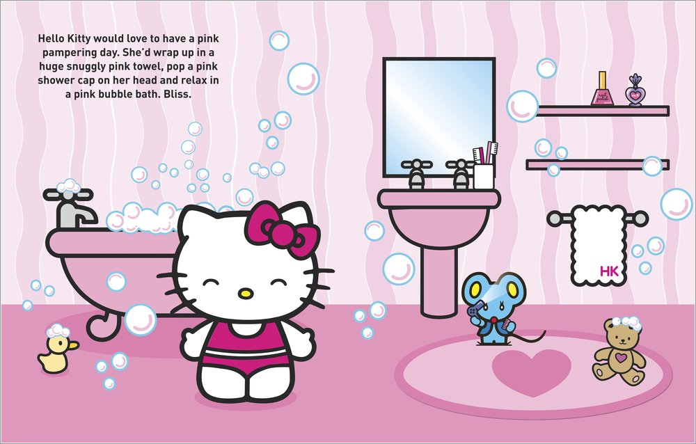 You Can Book Me Ltd Hello Kitty Dress Up Sticker Book Pretty In Pink
