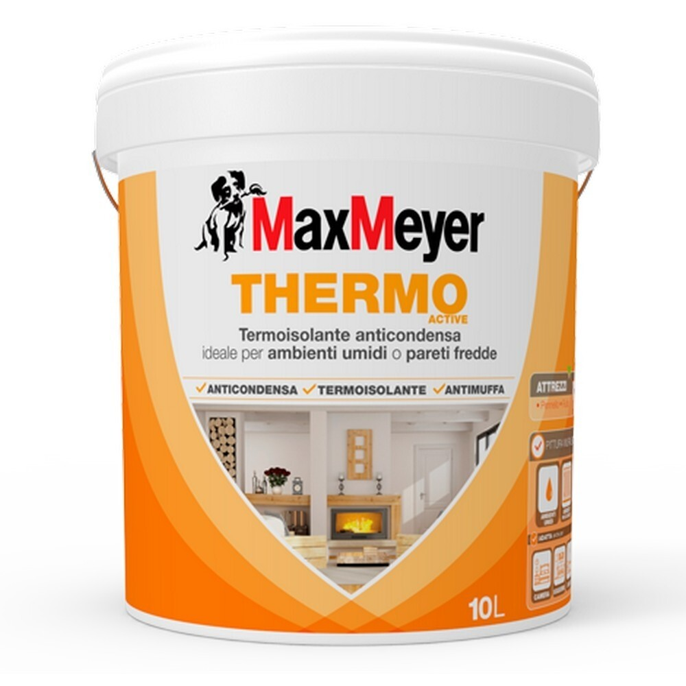 Pittura Termica In Sughero Thermo Active Pittura Termoisolante