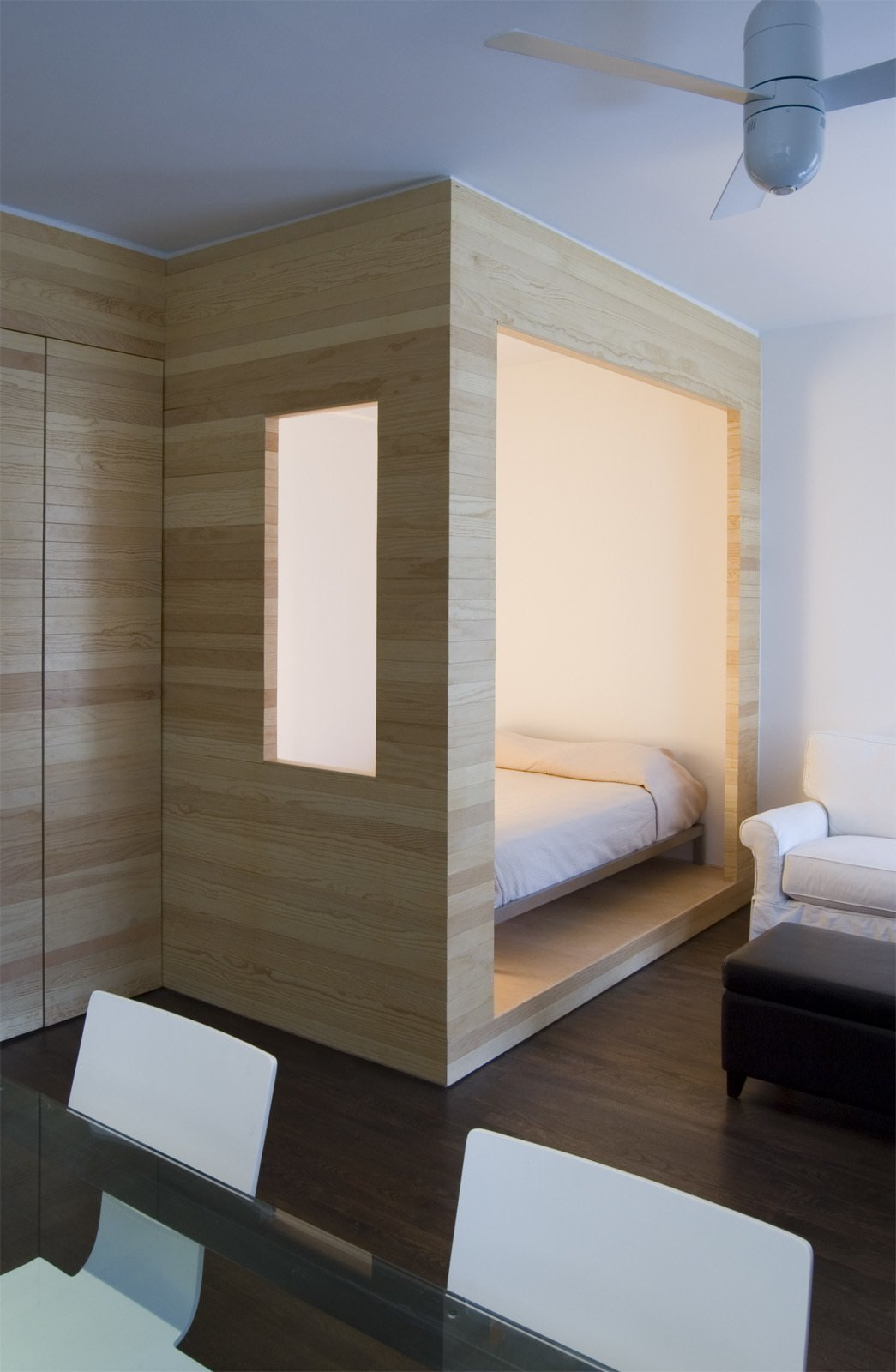 Studio Apartment Sleeping Solutions Photo 4 Of 11 In 11 Hidden Beds In Small Homes Dwell