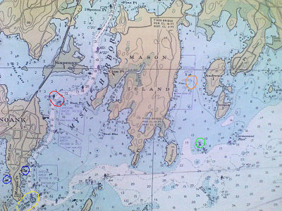 How Nautical Charts are Read