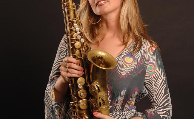 Lionel Flusin Photographe Candy Dulfer Au Montreux Jazz