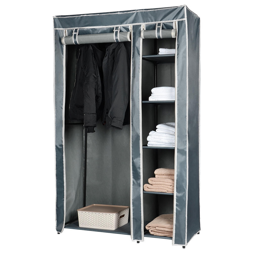 Garage Clothing Vaudreuil Portable Wardrobe Clothes Closet Durable Non Woven Fabric Storage Organizer Sortwise