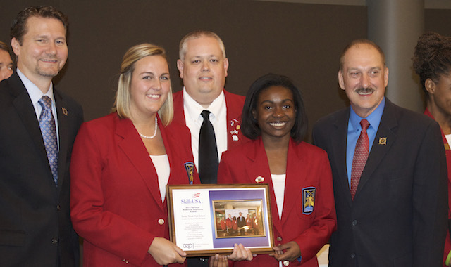 SkillsUSA chapter named Model of Excellence for second year - The